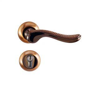 Mâner pe rozetă/cheie/yală/wc – Z 1516 E9 SPCF/PCF (Aliaj Zinc)