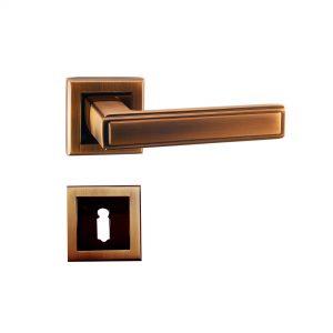 Mâner pe rozetă/cheie/yală/wc – A 1803 E8 SMACC/PCF (Al. Aluminiu)