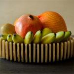 Fructieră din placaj mesteacăn