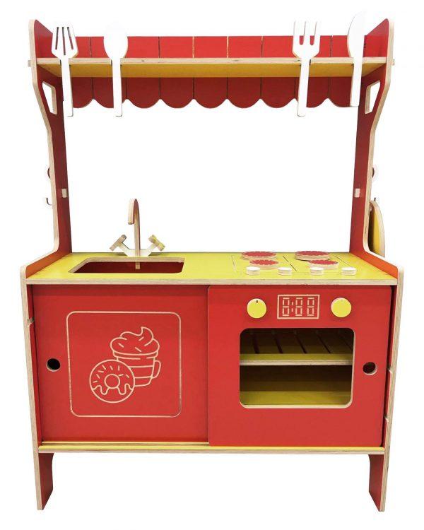 bucatarie copii rosie ro